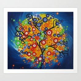 Vortex tree Art Print