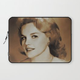 Hollywood Legends, Carrol Baker, Actress Laptop Sleeve