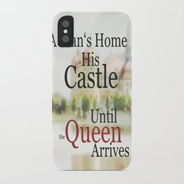 a man's home ... iPhone Case