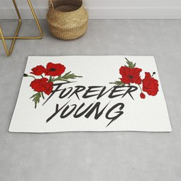 Forever young Rug