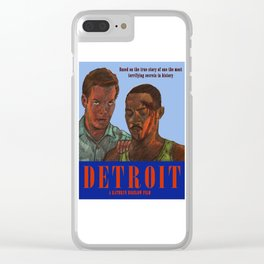 Detroit Clear iPhone Case