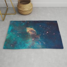 Stellar Jet in the Carina Nebula Rug