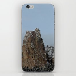 Smith Rock Snowbound iPhone Skin