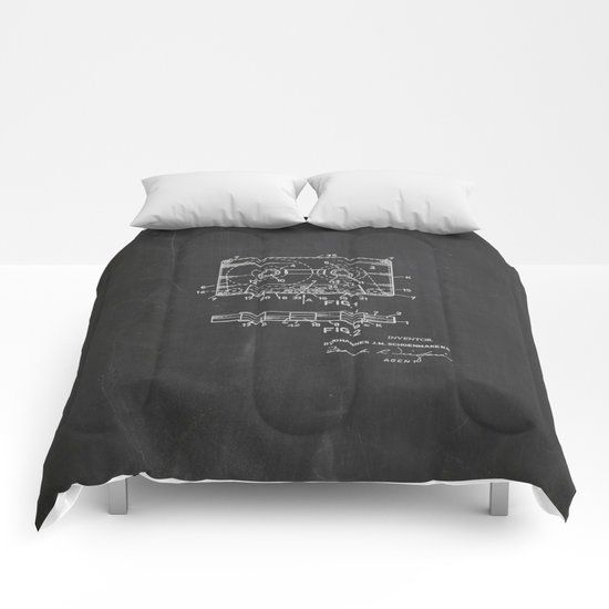 Magazine Tape Recorder Patent Comforters