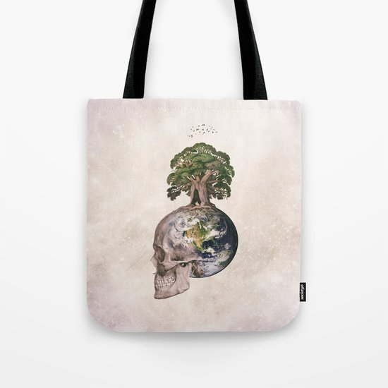 Life (Wandering Through Space) Tote Bag