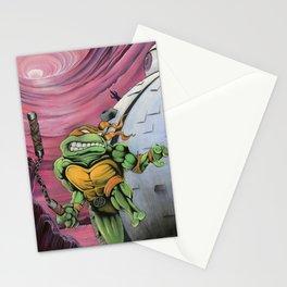 Teenage Mutant Turtles Painting Stationery Cards