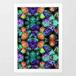 Painted Eggs (ID427) Art Print