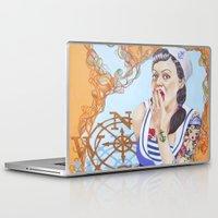 sailor Laptop & iPad Skins featuring SAILOR by marmaseo