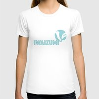 haikyuu T-shirts featuring Iwaizumi by Lena Lang