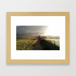 Contemplating Ben Nevis Framed Art Print