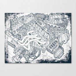 WRECK Canvas Print