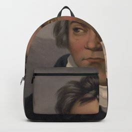 Vintage Portrait of Ludwig van Beethoven (1870) Backpack