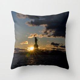 Liberty Starburst Throw Pillow