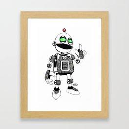 Clickety Clank Framed Art Print