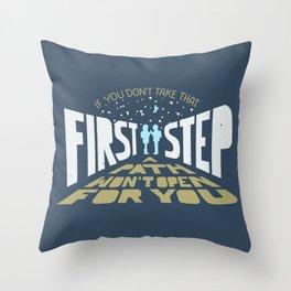 February Eighteen Throw Pillow
