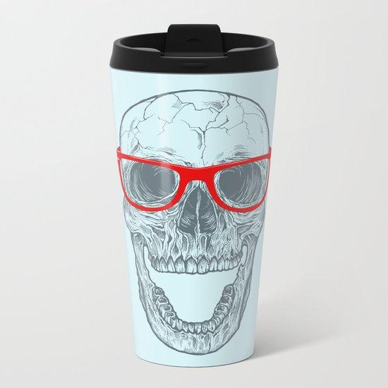 Smart-Happy Skully Metal Travel Mug