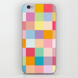 Candy colors iPhone Skin