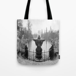 Fountains in Kensington Park of London, England Tote Bag