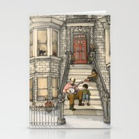 banjo Stationery Cards featuring Banjo Man by Studio Castillo