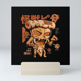Pizzazilla X-ray Mini Art Print