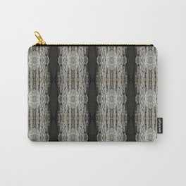 Oak Tree Bark Vertical Pattern by Debra Cortese Designs Carry-All Pouch