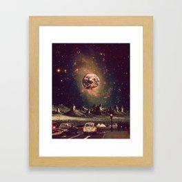 Plan(et) B Framed Art Print