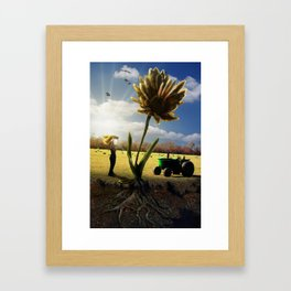 Miracle Grow Framed Art Print