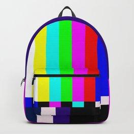 No Signal TV Backpack