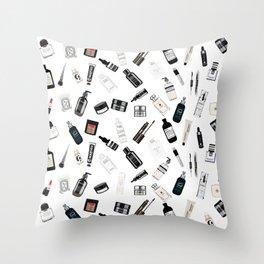 The Black & White shelf Throw Pillow