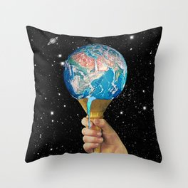 Hypercream Throw Pillow
