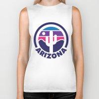 arizona Biker Tanks featuring Arizona by Lopez91