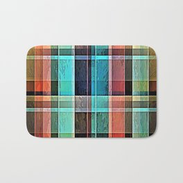 Plaid 17 Bath Mat
