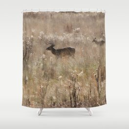 Autumn - Deer in Tennessee Shower Curtain