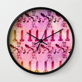 ready for the war Wall Clock