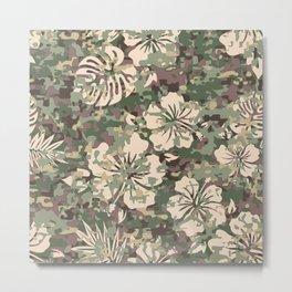 Aloha Camouflage  Metal Print