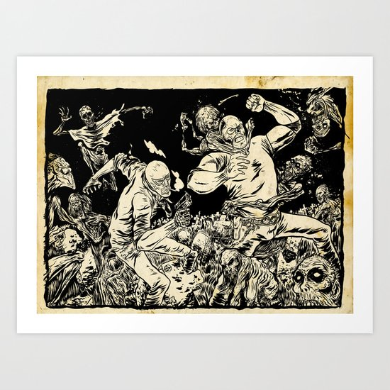 RUDO & TITAN Art Print