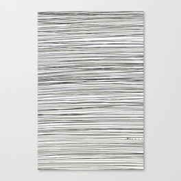 Water -minimalist line drawing Canvas Print