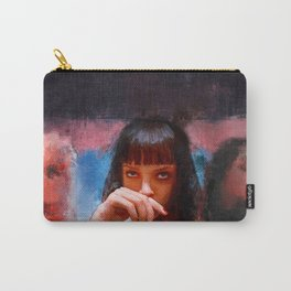 Mia Wallace (pulp fiction) Carry-All Pouch