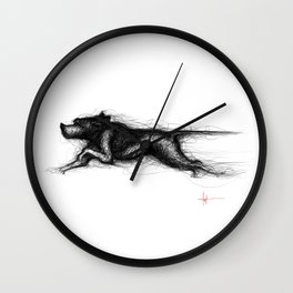 English Pointer Wall Clock