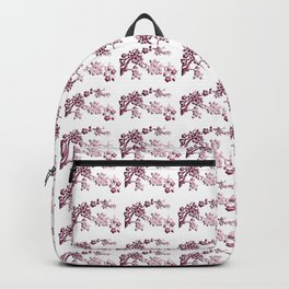 Cherry Blossoms Changeable Background Color Backpack