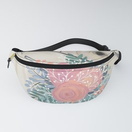 Wedding Day Bouquet Fanny Pack
