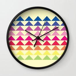 Those Damn Triangles  Wall Clock