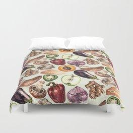 Food Pattern Duvet Cover
