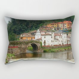 Arched Bridge Rectangular Pillow