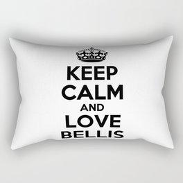 Keep calm and love BELLIS Rectangular Pillow