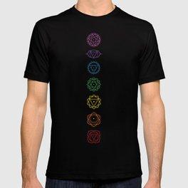 Sacred Geometry - Chakras Aligned T-shirt