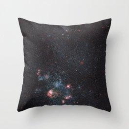 Dwarf Galaxy IC 2574 Throw Pillow