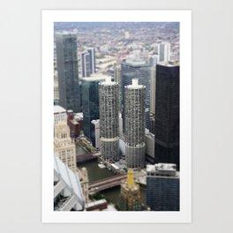 Marina Towers Chicago Illinois Color Photo Art Print