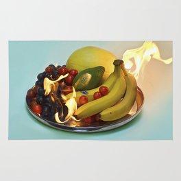 Burning Fruits Rug