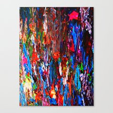 color mix / palette knife abstract Canvas Print